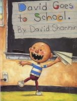 David Goes to School (Hardcover, Library binding) - David Shannon Photo