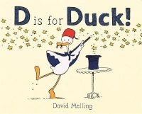 D is for Duck! (Hardcover) - David Melling Photo