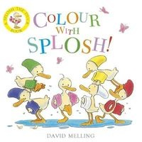 Colour with Splosh (Board book) - David Melling Photo