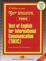 Test of English for International Communication (Toeic) (Spiral bound) - Jack Rudman Photo