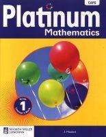 Platinum Mathematics CAPS - Gr 1: Learner's Book (Staple bound) -  Photo