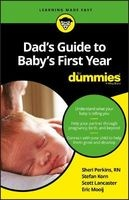Dad's Guide to Baby's First Year For Dummies (Paperback) - Sharon Perkins Photo