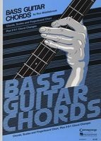 Bass Guitar Chord Chart - Chords, Scales and Fingerboard Chart, Plus 2-5-1 Chord Changes (Wallchart) - Ron Middlebrook Photo