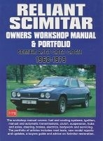 Reliant Scimitar Owners Workshop Manual and Portfolio 1968-79 (Hardcover) - RM Clarke Photo