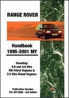 Range Rover Handbook 1995-2001 My - Covering 4.0 and 4.6 Litre V8i Petrol Engines and 2.5 Litre Diesel Engines (Paperback) - RM Clarke Photo