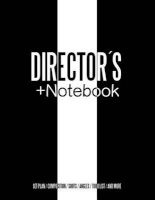 Directors + Notebook - Cinema Notebooks for Cinema Artists (Paperback) - Juan Sebastian Valencia Photo