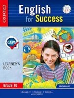 English for Success: Gr 10: Learner's Book (Paperback) - I Barnsley Photo