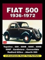 Fiat 500 1936-1972 Road Test Portfolio (Paperback) - RM Clarke Photo