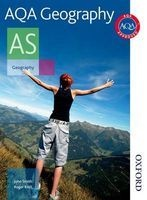 AQA Geography AS - Student's Book (Paperback, New Ed) - John Smith Photo