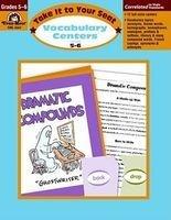 Vocabulary Centers, Grades 5-6+ (Paperback, Teacher) - Evan Moor Educational Publishers Photo