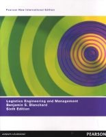 Logistics Engineering & Management (Paperback, Pearson New International Edition) - Benjamin S Blanchard Photo