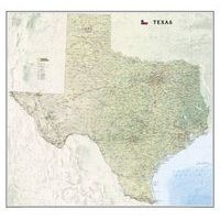 Texas, Laminated - Wall Maps U.S. (Sheet map) - National Geographic Maps Photo