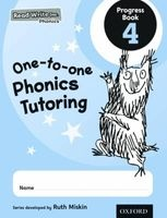 Read Write Inc. Phonics: One-to-One Phonics Tutoring Progress Book 4 Pack of 5 - Ruth Miskin Photo