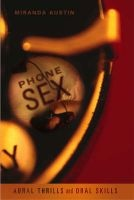 Phone Sex (Paperback) - Miranda Austin Photo
