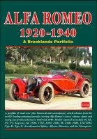 Alfa Romeo 1920-1940 - a Brooklands Portfolio (Paperback) - RM Clarke Photo