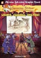 Graphic Novels 16 Lights, Camera, Stilton! (Hardcover) - Geronimo Stilton Photo