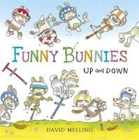 Up and Down - Board Book (Board book) - David Melling Photo