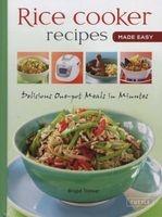 Quick & Easy Rice Cooker Recipes - New and Original Recipes (Spiral bound) - Brigid Treloar Photo