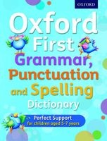 Oxford First Grammar, Punctuation and Spelling Dictionary (Paperback) - Jenny Roberts Photo