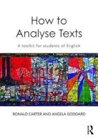 How To Analyse Texts - A Toolkit for Students of English (Paperback) - Ronald Carter Photo