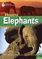Happy Elephants - Footprint Reading Library (Paperback) - Rob Waring Photo