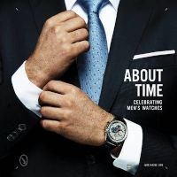 About Time - Celebrating Men's Watches (Hardcover) - Ivar Hauge Line Photo