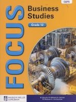 Focus Business Studies Caps - Gr 12: Learner's Book (Paperback) - M Bounds Photo