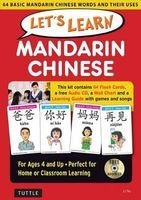 Let's Learn Mandarin Chinese Kit - 64 Basic Mandarin Chinese Words and Their Uses (Flashcards, Audio CD, Games & Songs, Learning Guide and Wall Chart) (Hardcover) - Li Yu Photo