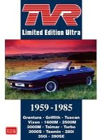 TVR Limited Edition Ultra 1959-1986 (Paperback) - RM Clarke Photo