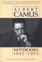 Notebooks 1942-1951 (Paperback) - Albert Camus Photo