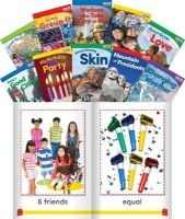 Time for Kids Informational Text Grade K Readers Set 3 10-Book Set (English, Spanish, Paperback) - Teacher Created Materials Photo
