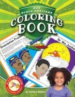 Our Black Heritage Coloring Book (Paperback) - Carole Marsh Photo