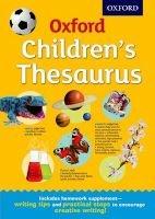 Oxford Children's Thesaurus (Hardcover) - Oxford Dictionaries Photo