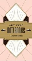 Art Deco Notebooks (Notebook / blank book) - Chronicle Books Photo