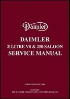 Daimler 2.5 V8 and 250 Saloon Service Manual (Paperback) - RM Clarke Photo