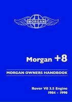Morgan +8 Morgan Owners Handbook - Rover V8 3.5 Engine 1984-1990 (Paperback) - RM Clarke Photo