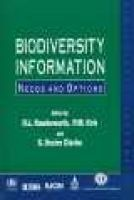 Biodivesity Information - Needs and Options (Hardcover) - DL Hawksworth Photo