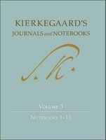 Kierkegaard's Journals and Notebooks, Volume 3 - Notebooks 1-15 (Hardcover) - Soren Kierkegaard Photo