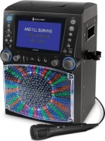 Singing Machine STVG785 LED Karaoke System with Microphone Built-In Speaker & App Compatibility Photo