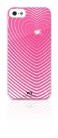 White Diamonds Apple iPhone 5 & 5s White Diamond Heartbeat Cover - Pink Photo