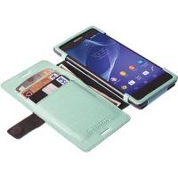 Krusell Malmo FlipWallet for Sony Xperia Aqua M4/Aqua M4 Dual - Black Photo