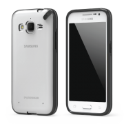 PureGear Slim Shell Case for Samsung Galaxy Core Prime - Clear/Black Photo