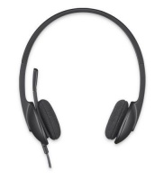 Logitech H340 USB Wired Headset With Microphone Photo