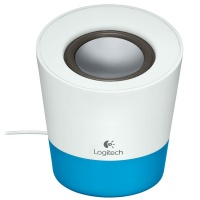 Logitech Z50 Multimedia Mini Speaker - Blue Photo