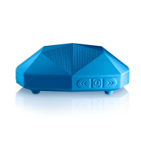 Outdoor Tech Turtle Shell 2.0 Bluetooth Speaker - Electric Blue Photo