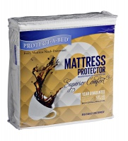 Protect A Bed Protect-A-Bed - Superior Comfort Mattress Protector - White Photo
