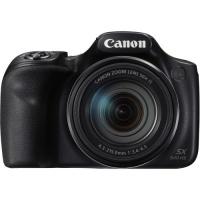 Canon SX540 Ultra Zoom Digital Camera Black Photo