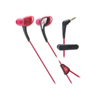 Audio Technica SonicSport In-Ear Headphone - Red Photo