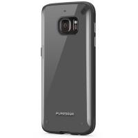 PureGear Samsung Galaxy S7 Slim Shell - Clear & Clear Photo