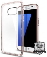 Spigen Ultra Hybrid Case for Samsung Galaxy S7 - Clear Photo